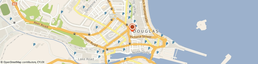 Route/map/directions to Promoor Ltd, IM1 2LD Douglas, 51a Victoria Street