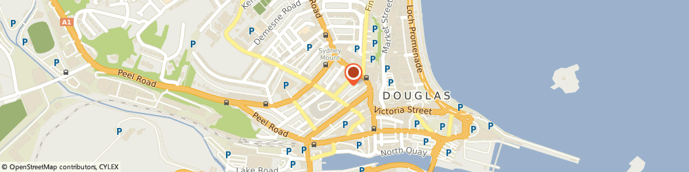 Route/map/directions to Nigel m Cordwell, IM1 1EF Douglas, 6 Hill St