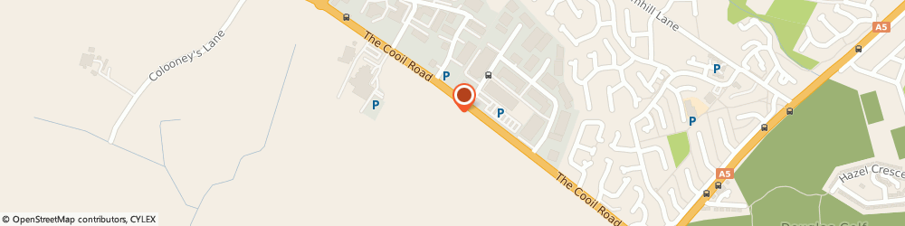 Route/map/directions to Motability Scheme at Motor Mall Suzuki, IM4 2AZ Douglas, Cooil Road