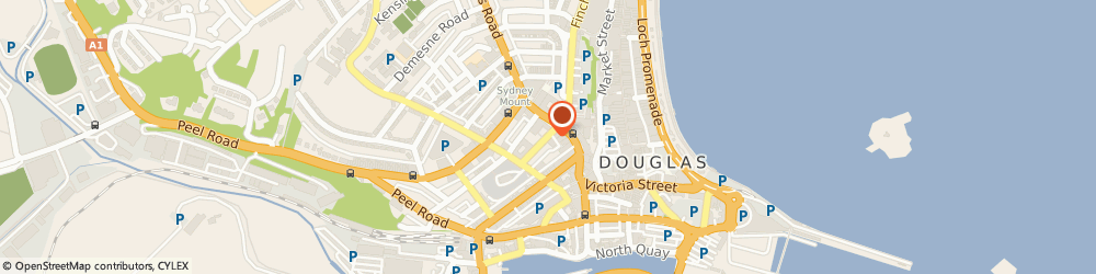 Route/map/directions to Nedbank Private Wealth - Isle of Man, IM1 1EU Douglas, St Mary's Court, 20 Hill Street