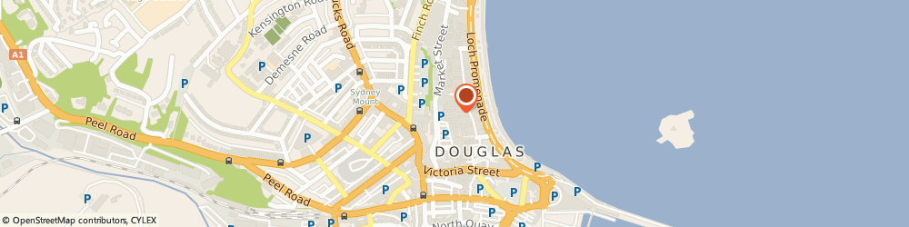 Route/map/directions to Waterstones, IM1 2EF Douglas, 21-25 Strand Street