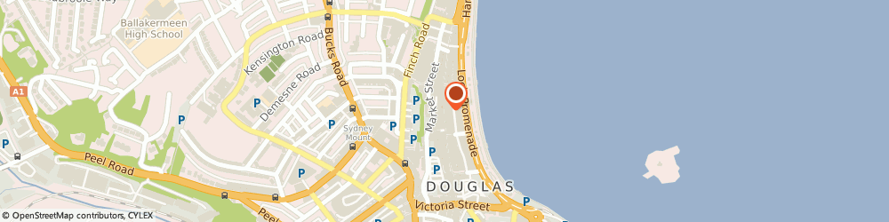 Route/map/directions to Shoe Zone, IM1 2ED Douglas, 1 Strand Street
