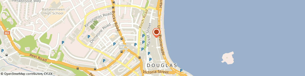 Route/map/directions to Cotton Traders DOUGLAS, IM1 2EW Douglas, 74 Strand Street