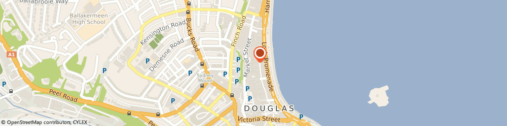 Route/map/directions to GAME Isle of Man, IM1 2EL Douglas, 56 Strand Street
