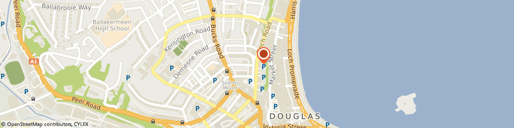 Route/map/directions to Sign Sense Ltd, IM1 2PS Douglas, 32 Finch Road