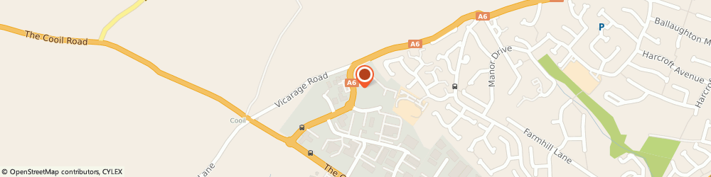 Route/map/directions to Horse & Plough, IM2 2QZ Douglas, ISLE OF MAN BUSINESS PARK