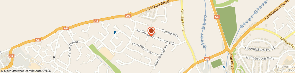 Route/map/directions to Phoenix Electrical, IM2 1NX Douglas, 4 Cooil Farrane