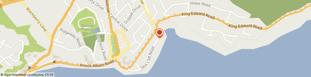 Route/map/directions to The Ascot Hotel, IM2 4LE Douglas, 5-8 Empire Terrace