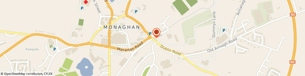 Route/map/directions to Nfgws,  Monaghan, 24 OLD CROSS SQUARE