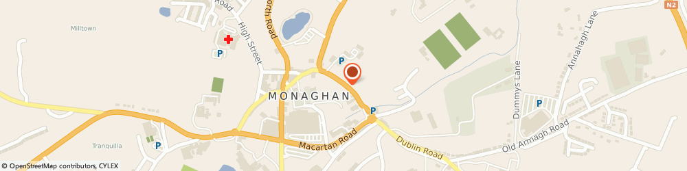 Route/map/directions to Sound Quality,  Monaghan, 13, DUBLIN ST