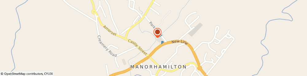 Route/map/directions to Magic Moments,  Manorhamilton,