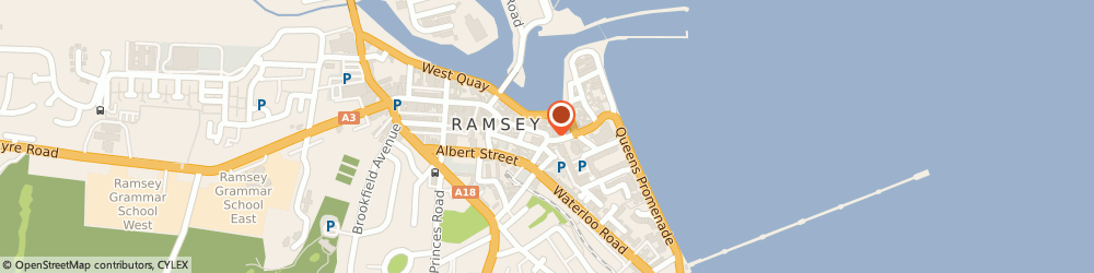 Route/map/directions to Co-op Food RAMSEY, IM8 1AQ Ramsey, Parliament Street