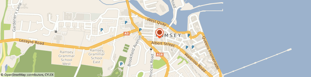 Route/map/directions to Wine World, IM8 1DG Ramsey, CHRISTIAN STREET