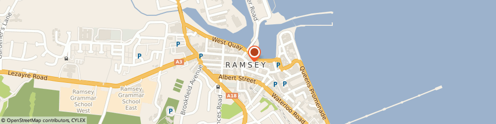 Route/map/directions to Lotus Chinese Restaurant, IM8 1AS Ramsey, 13-15 PARLIAMENT STREET