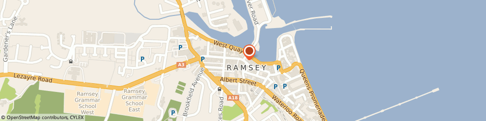 Route/map/directions to The Flower Box, IM8 1AT Ramsey, 31A PARLIAMENT STREET