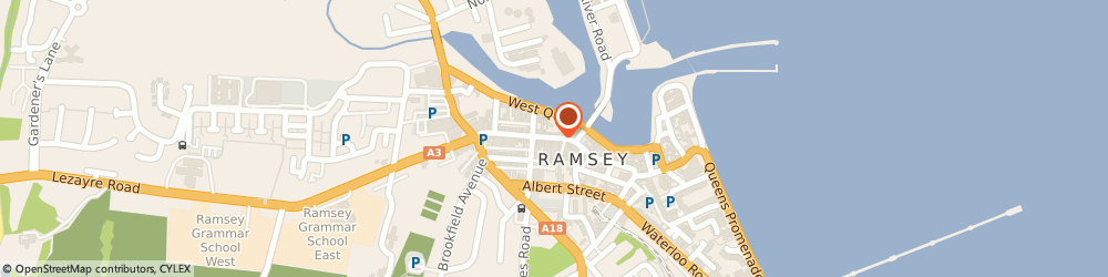 Route/map/directions to Looneys Of Ramsey, IM8 1AW Ramsey, 30 Parliament Street