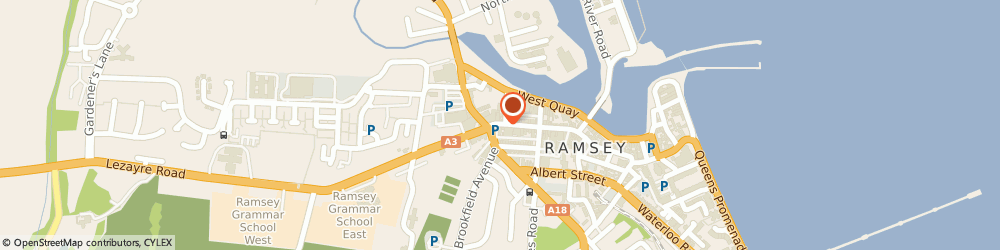 Route/map/directions to The Tasty Bite, IM8 1AS Ramsey, 29 Parliament Street