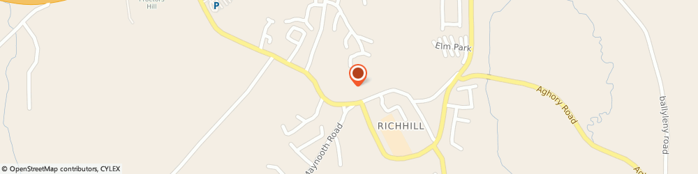 Route/map/directions to Maureens, BT61 9PW Richhill, 36A Irish St