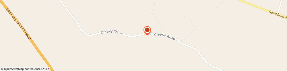 Route/map/directions to BALLYMOSS STUD, BT27 6UX Lisburn, 30 Creevy Rd