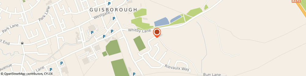 Route/map/directions to O.s.a Consultancy Services, TS14 7AP Guisborough, 10, WHITBY AVENUE