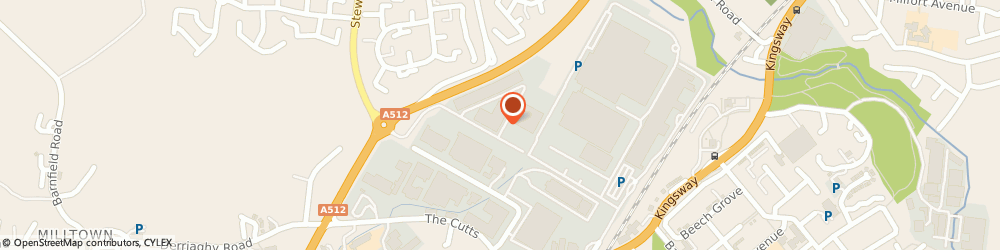 Route/map/directions to Finaghy Cleaning Services, BT17 9HY Belfast, 223 City Business Park