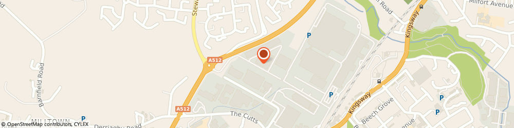 Route/map/directions to Safety Lift (Ireland) Ltd, BT17 9HY Dunmurry, Unit 31, City Business Park, Creighton's Road
