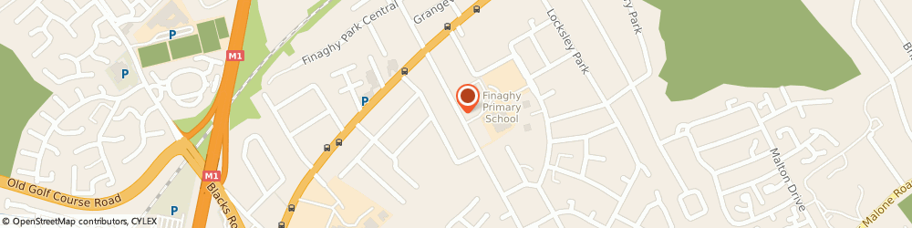 Route/map/directions to A G H Irwin, BT10 0BX Belfast, Rowney Practice 13-25 Finaghy Road South