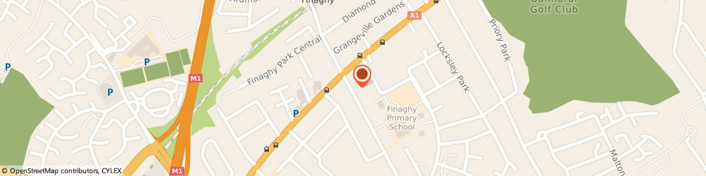 Route/map/directions to Finaghy Library, BT10 0DR Belfast, 38B Finaghy Road South