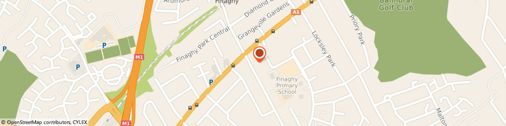 Route/map/directions to WIGGLES & GIGGLES, BT10 0DR Belfast, 10 Finaghy Road South