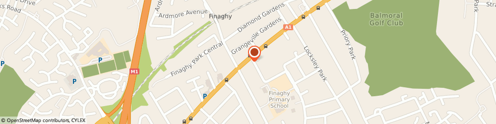 Route/map/directions to George Wilson Trimble, BT10 0BE Belfast, 126B UPPER LISBURN ROAD