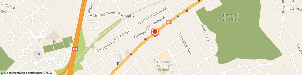 Route/map/directions to Institute of Beauty Therapy, BT10 0BD Belfast, 122 Upper Lisburn Road