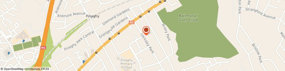 Route/map/directions to D J Livingstone Electrical, BT10 0AR Belfast, 30 LOCKSLEY PARK