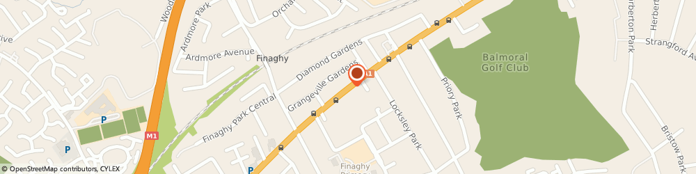 Route/map/directions to Dougan Residential And Commercial, BT10 0BG Belfast, Upper Lisburn Rd