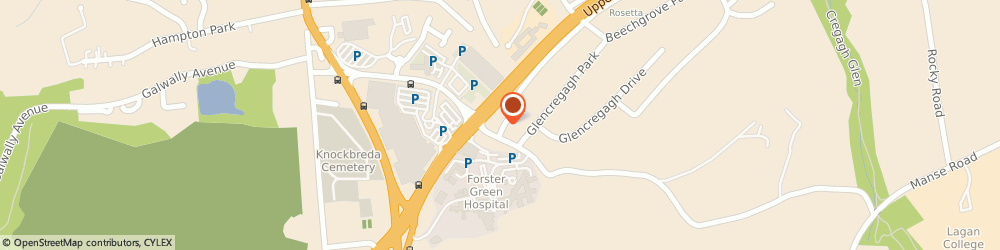 Route/map/directions to A.j. Services, BT6 0PA Belfast, 6, GLENCREGAGH COURT