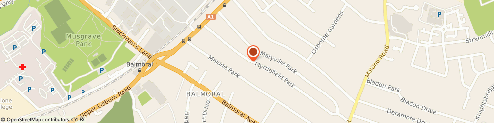 Route/map/directions to Nevin Gray Consulting Ltd, BT9 6NF Belfast, 26 MYRTLEFIELD PARK