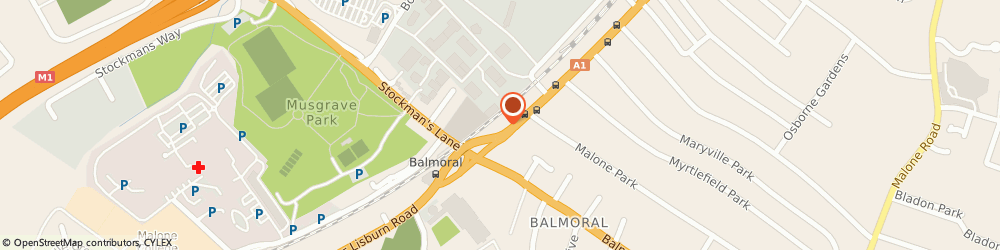 Route/map/directions to Bupa Health Centre - Belfast, BT9 7GX Belfast, Kingsbridge Private Hospital