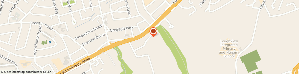 Route/map/directions to David Keers, BT6 9QP Belfast, 26 LANCEDEAN ROAD