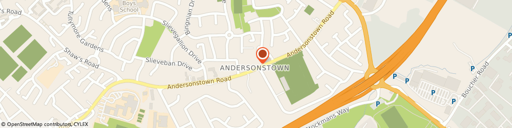 Route/map/directions to Crystal-Clean, BT11 9BU Belfast, 127 Andersonstown Rd