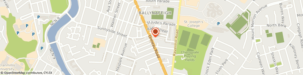 Route/map/directions to Ormeau Dental Care, BT7 2GE Belfast, 324 Ormeau Rd