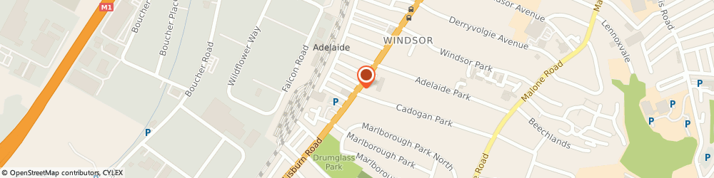 Route/map/directions to Andrew Watson Hairdressing, BT9 7EZ Belfast, 499 Lisburn Road