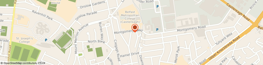 Route/map/directions to Burns Heating & Plumbing, BT6 9JE Belfast, 26 Bapaume Avenue