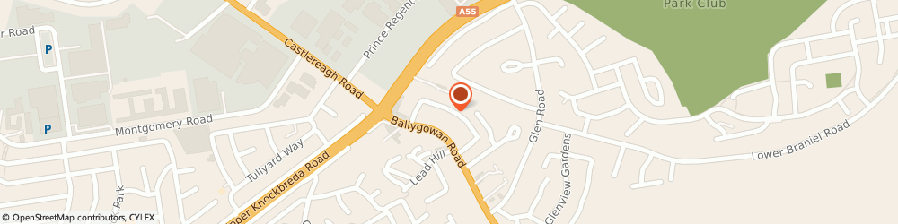 Route/map/directions to Prestige Boilers, BT5 7LQ Belfast, 25 Brentwood Park