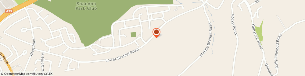 Route/map/directions to Roden Estates Limited, BT5 7NP Belfast, 203 Lower Braniel Road