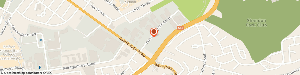 Route/map/directions to Coomber Electronic Equipment Ltd, BT5 6QR Belfast, Conlavon House, 5 Prince Regent Road