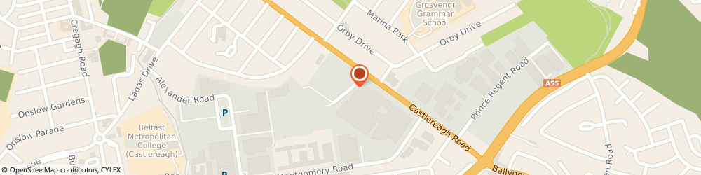 Route/map/directions to Sheridan Distribution Services Limited, BT5 6SR Belfast, 2 Marshalls Road