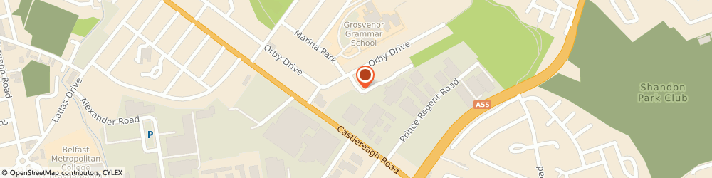 Route/map/directions to Belmont Garden Services, BT5 6BP Belfast, 3 Orby Close