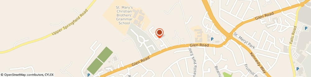 Route/map/directions to Broadway Plastering, BT11 8QU Belfast, 19, Airfield Heights