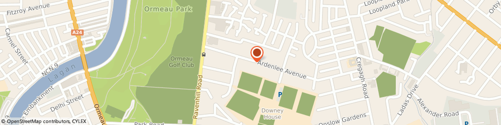 Route/map/directions to C J Technical Services, BT6 0AB Belfast, 59 ARDENLEE AVENUE