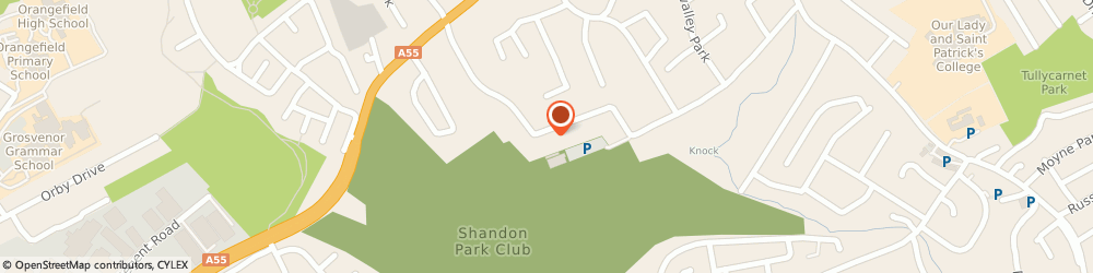 Route/map/directions to The Consummate Pro, BT5 6NW Belfast, 14 Shandon Park