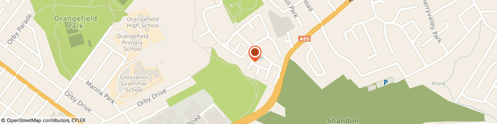 Route/map/directions to A Close Electrics, BT5 6GF Belfast, 22, KNOCK GROVE, CLARAWOOD ESTATE
